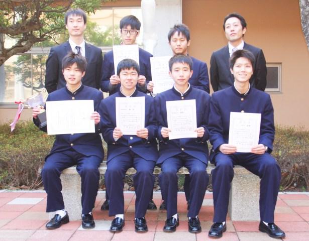 中国語(中国語コンテストで入賞した6人)