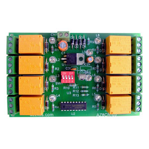8 channel Remote Relay Board - iknowvations.in