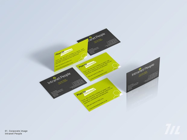 Business Card Intranet People