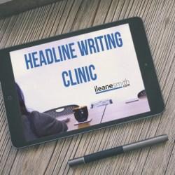 Sharpen Your Headline Writing Skills