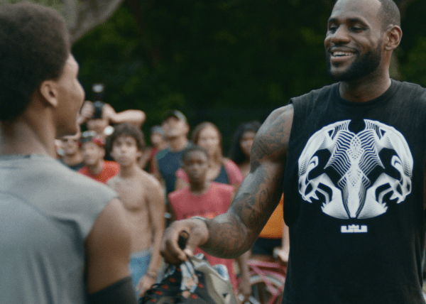 lebron training day