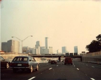 Atlanta, Georgia Skyline circa 1984