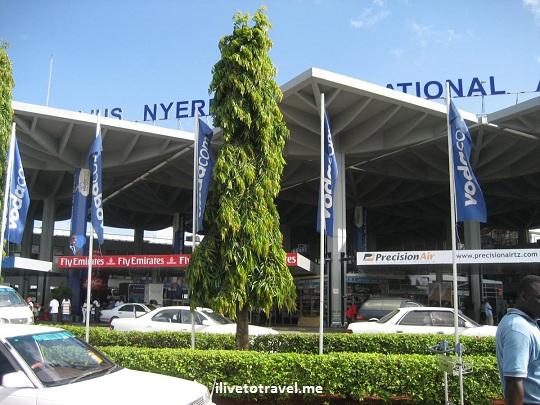 Airport in Dar es Salaam, Tanzania