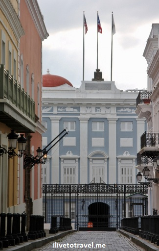 La Fortaleza (the governor's house) in San Juan, Puerto Rico