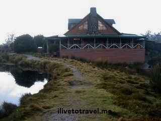 The lodge by Cradle Mountain