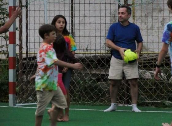 Amateur soccer player