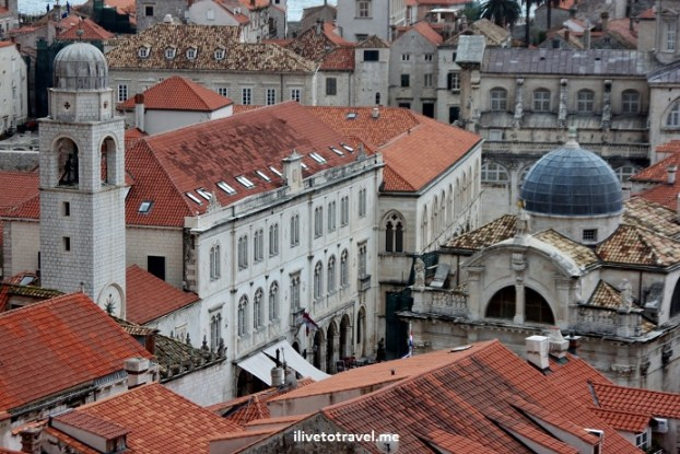 Bell Tower and Church of St Vlaho in Dubrovnik, Croatia