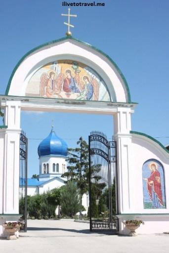 Frumoasa Monastery in Moldova