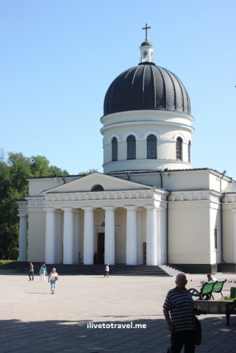 Metropolitan Cathedral of Christ's Nativity in Chisinau, Moldova