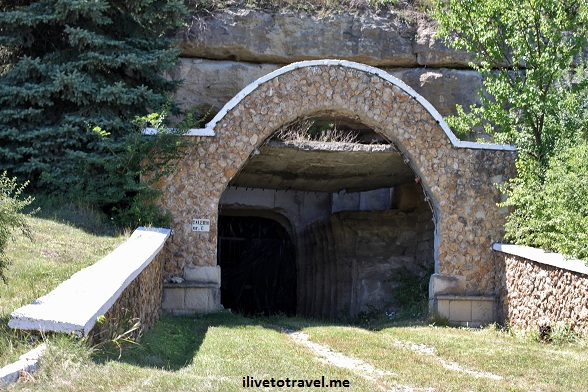 Tunnels in Milestii Mici winery in Moldova