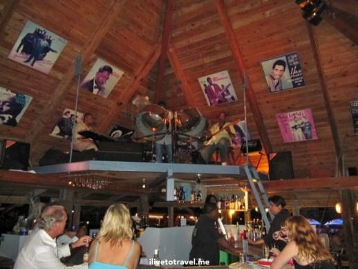 Avila Hotel Blues Bar by the sea near Willemstad, Curacao