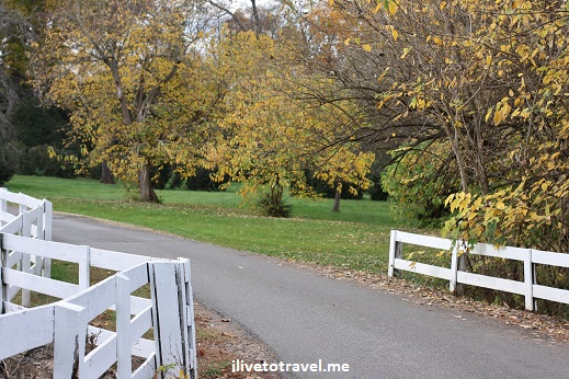 Beautiful grounds at Barbousville Vineyard in Virginia wine country