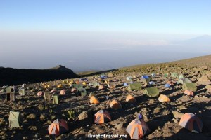 Karanga Camp at Kilimanjaro's Machame Route