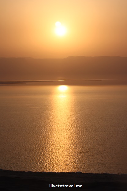 Sunset over the Dead Sea in Jordan, Canon EOS Rebel