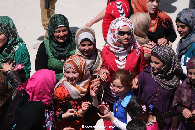 Schoolchildren in Jerash, Jordan