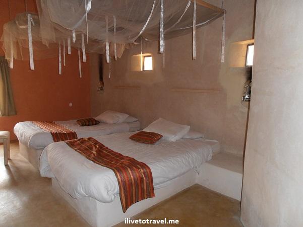Room at Feynan Ecolodge in Jordan's Dana Biosphere Reserve Olympus