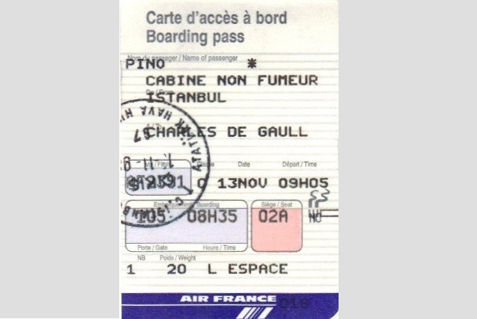 boarding pass, Istanbul, Air France, trip, travel, explore, adventure, exotic, airplane, flight, Turkey, Charles de Gaulle, airport