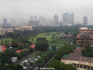 Intramuros, Manila, Philippines, photo, Olympus, travel, rainy, cloudy