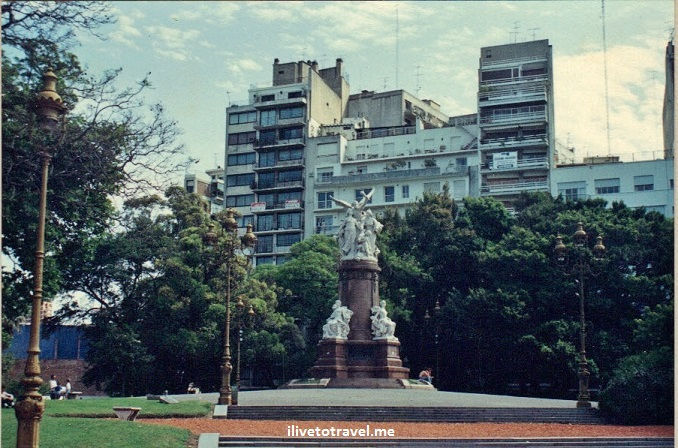 Buenos Aires, Argentina, city, monuments, architecture, Canon EOS Rebel, Palermo, statue