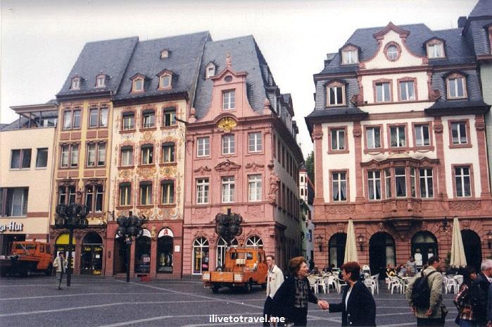 Mainz, Germany, square, plaza, architecture, platz, Canon EOS Rebel, photo, travel