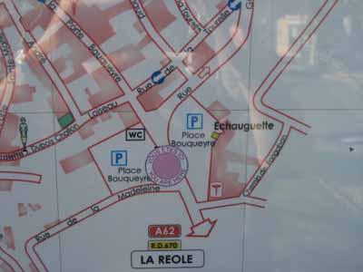 St. Emilion, Bordeaux, French town, France, sign, photo, Canon EOS Rebel