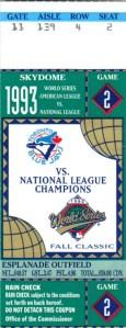 World Series, baseball, Toronto, Blue Jays, Phillies, Skydoe, ticket, souvenir, travel