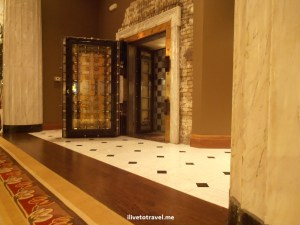 bank vault, Minneapolis Hotel, Autographi Collection, hotel, lobby, historical, Minneapolis, travel, lodging, accommodation, Olympus