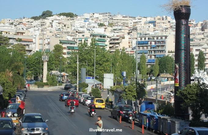 Acropolis, Athens. modern Athens, travel, photo, Canon EOS Rebel