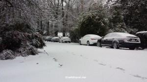 Snow, Atlanta, street, winter, Samsung Galaxy