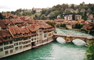 Aar River, Bern, Switzerland, old town, architecture, charm, capital