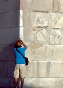 Washington Monument, D.C., stones, photographer