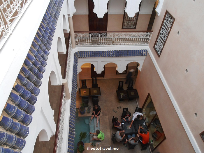Marrakesh, Morocco, riad, hotel, courtyard, photo, travel, Olympus