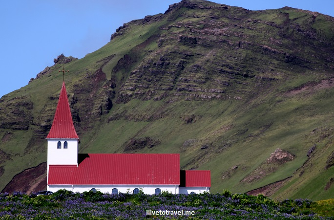 Vik, Iceland, village, church, scenic, landscape, photo, travel, Canon EOS Rebel