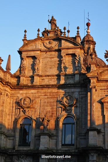 Praza do Obradoiro, Cathedral, west facade,Santiago de Compostela, Galicia, Spain, World Heritage Site, travel, photo, architecture, Canon EOS Rebel