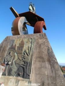 Monte de Gozo, Santiago de Compostela, Camino, The Way, pilgrimage, Spain, España, Espagne, travel, trekking, hiking, photo, Olympus