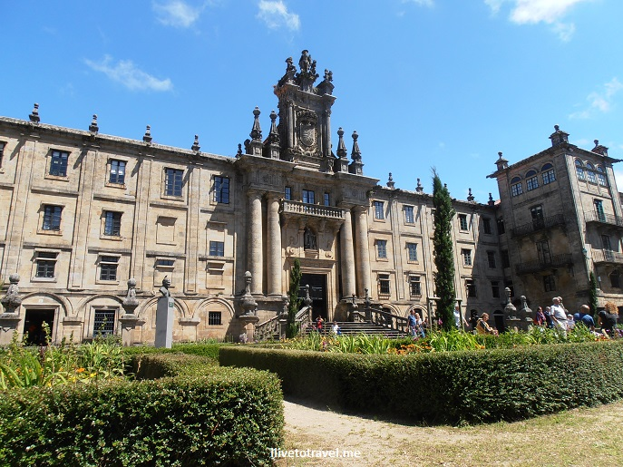university, north facade, Santiago de Compostela, Galicia, Spain, World Heritage Site, travel, photo, architecture, Olympus