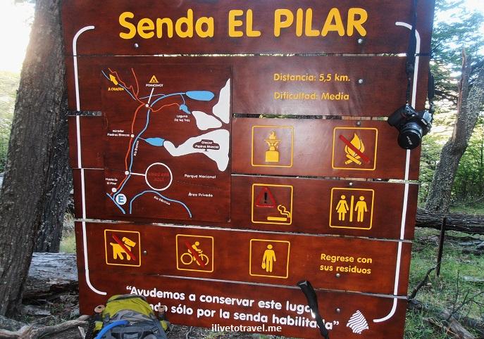 Fitz Roy, Chaltén, glacier national park, Senda el Pilar, Patagonia, Argentina, hiking, trekking, photo, travel, Olympus,