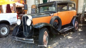 vintage car, vintage auto, Uruguay, Colonia, Sacramento, travel, photo, Samsung Galaxy, living museum