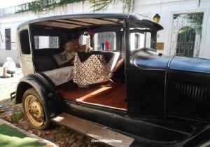 vintage car, vintage auto, Uruguay, Colonia, Sacramento, travel, photo, Olympus, living museum