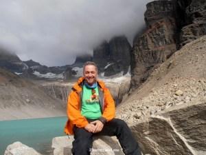 lagoon, hiking, Mirador Las Torres, Torres del Paine, Patagonia, Chile, Olympus, photo, trekking, travel