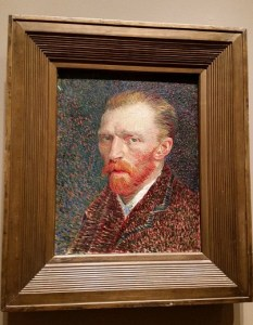 Van Gogh's selfie (at least one ear is still there!)