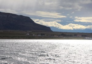 Right after leaving Puerto Natales