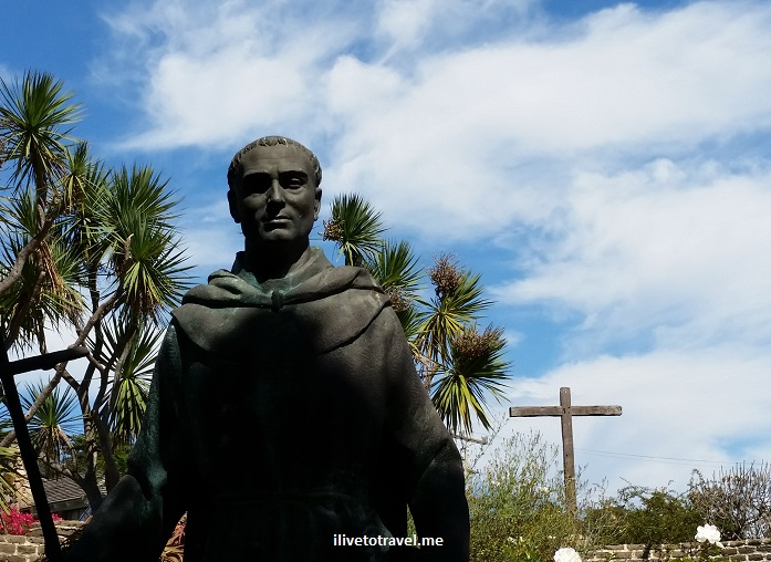 Junipero Serra, Carmel Mission, California, tomb, saint, history, faith, Catholic saint, travel, photo, Samsung Galaxy
