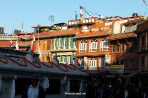 The district around the stupa