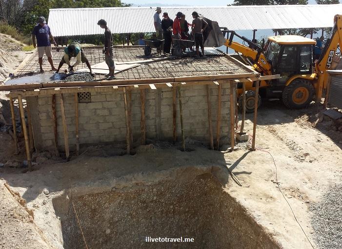Kumari, Nepal, Trekking for Kids, construction, Shree Bikash school, Nuwakot, voluntourism