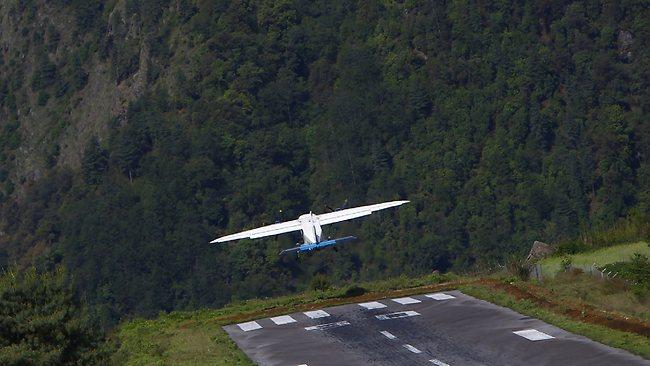 Lukla, airport, flights, Nepal, runway