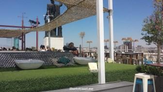 Azotea, Bellas Artes, rooftop bar, rooftop terrace, Madrid, Spain, nightlife, photo, Samsung Galaxy