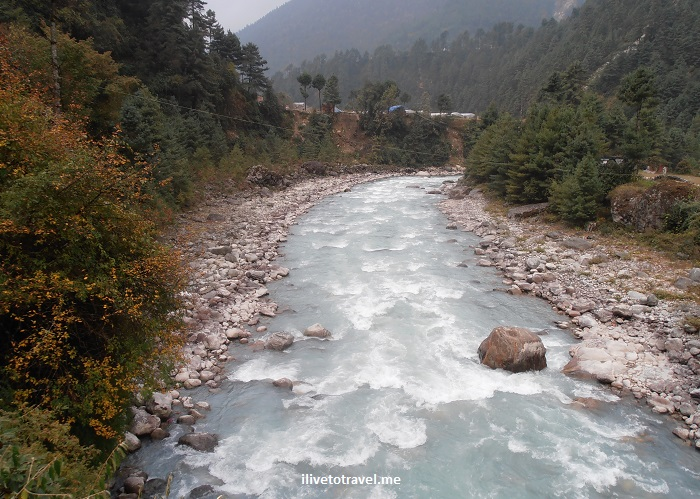 River, Dudh Kosi, Nepal, glacier water, Everest trek, trekking, nature, outdoors