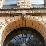 Superior, Wisconsin,street scene, City Hall, stone building