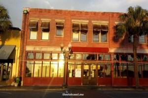downtown, Brunswick, Georgia, red brick, architecture, charming, photos, sunset